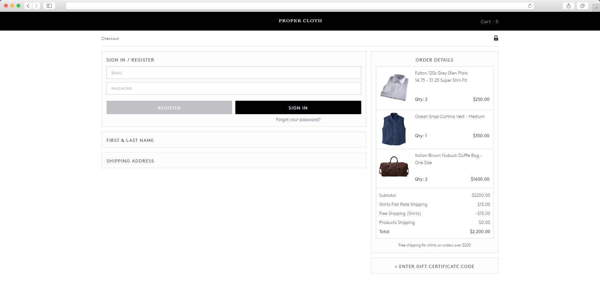 propercloth_checkout